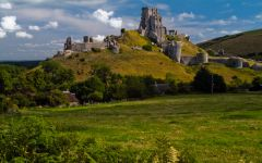 Corfe Castle village