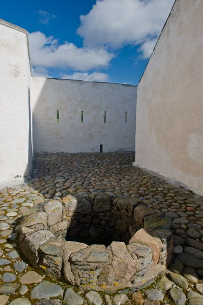 Corgarff Castle photo, The castle well