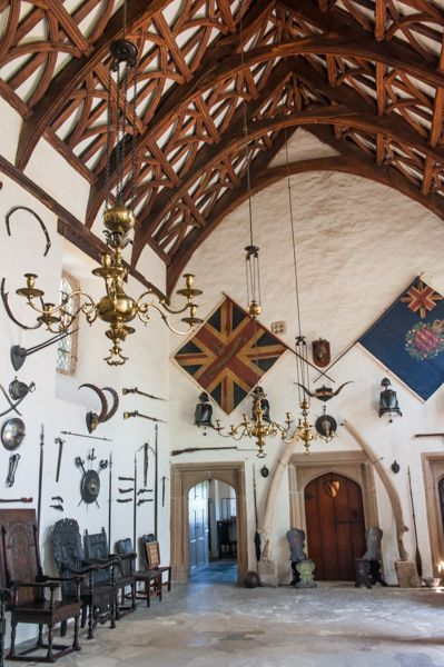 Cotehele photo, The great hall