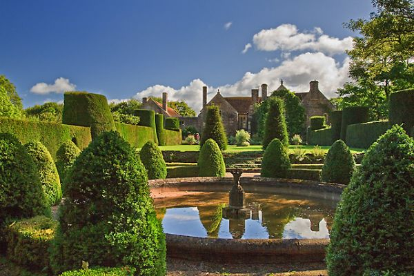 Cothay Manor and Gardens photo, A view from the garden (c) Mike Searle