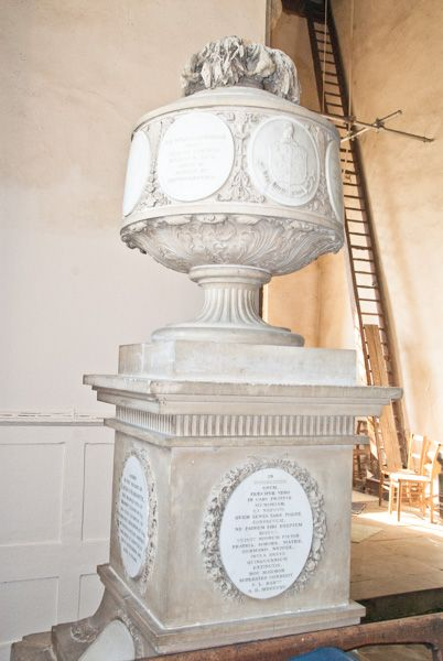 Cottesbrooke, All Saints Church photo, Sir William Langham memorial