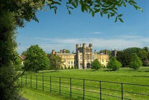 View of Coughton Court from the drive