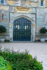 Rear entrance to Coughton Court