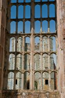 Cowdray House, Great Hall window