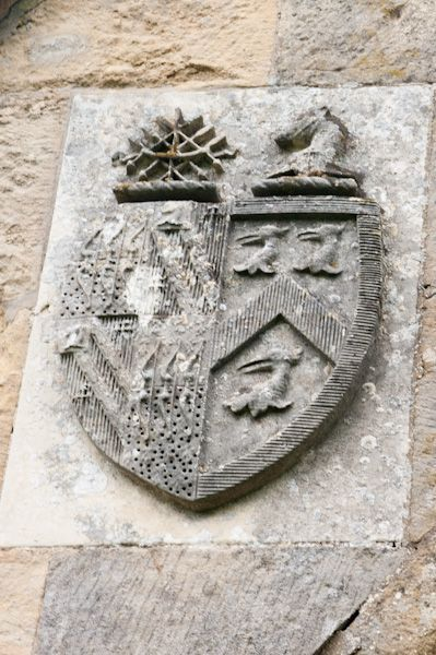 Cowlam, St Mary's Church photo, Sykes coat of arms