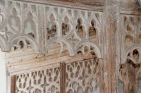 Cowlinge, St Margaret of Antioch Church, Rood screen tracery