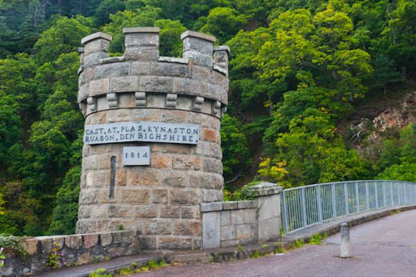 Craigellachie Bridge photo, Bridge tower