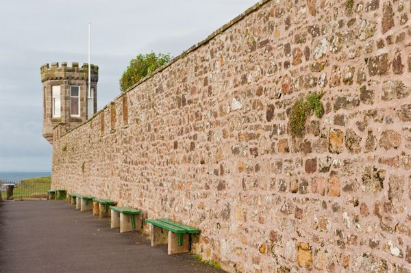 Crail photo, Castle Walk and corner tower