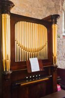 Crambe, St Michael's Church, 18th century organ