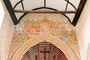 Chancel arch wall paintings