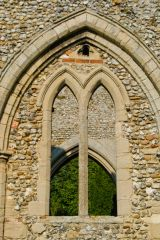 Creake Abbey, Remains of medieval Gothic arches