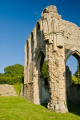 Creake Abbey, The east emd of the abbey church
