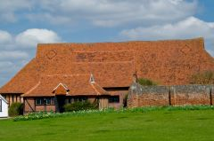 Cressing Temple Barns and Gardens, Wheat Barn exterior