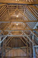Barley Barn roof timber structure