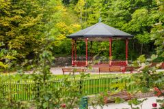 Crich Tramway Village, The Victorian bandstand