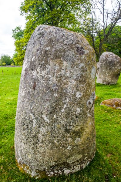 Croft Moraig Stone Circle photo, The largest standing stone