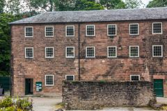 Cromford Mills, The first mill at Cromford