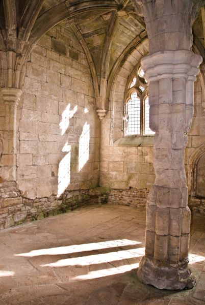 Crossraguel Abbey photo, Chapter House