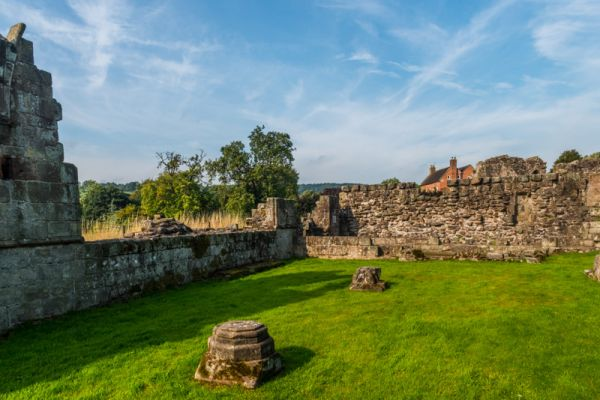 Croxden Abbey photo, The Abot's lodging