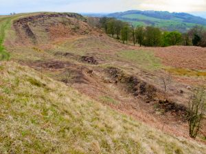 Croy Hill Roman Fortlet