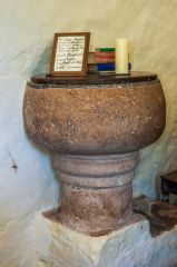 The Norman chalice font