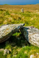 Cultoon Stone Circle, A pair of prone stones