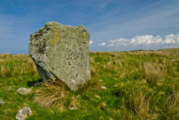 Cultoon Stone Circle photo, Another look at the smallest standing stone