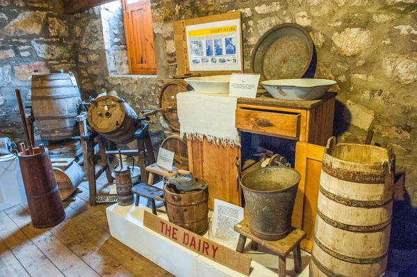 Dalgarven Mill photo, The Dairy display