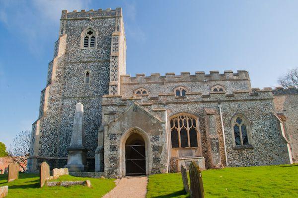 Dalham Suffolk Historic Church History Photos