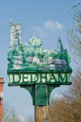 Dedham village sign