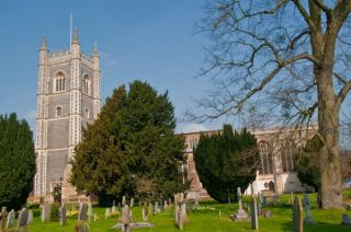 St Mary's church, Dedham
