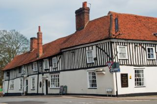 Timber-framed inn, Dedham