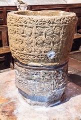 9th century font