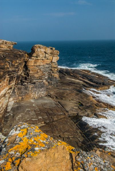 Brough of Deerness photo, The coastal trail to the Brough
