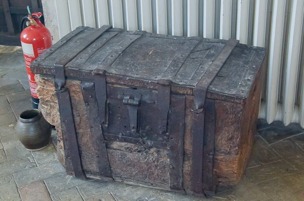 Dennington, St Mary's Church photo, Medieval parish chest