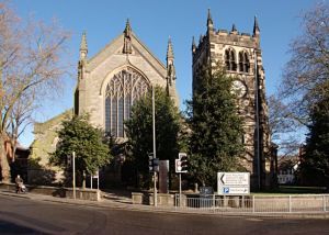 Derby, St Werburgh's Church