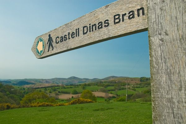 Castell Dinas Bran photo, Ready for a walk to the castle?