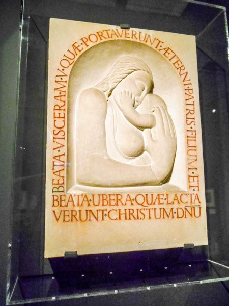 Ditchling Museum of Art & Craft photo, Desmond Chute, Madonna and Child, 1920