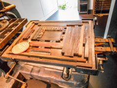 Printing press for St Dominic's Press