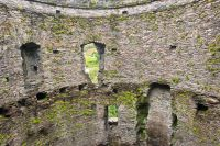 Dolbadarn Castle, Inside the keep