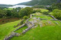 Dolbadarn Castle, View from the keep