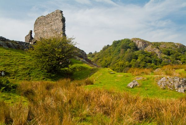 Dolwyddelan Castle photo, Keep view