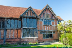 A timber-framed 15th century wing