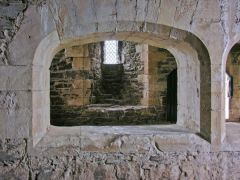 Archway in the castle kitchens