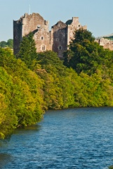Doune Castle and the River Teith