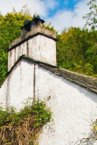 Dove Cottage & Wordsworth Museum photo, Detail of the chimney stack and gable