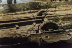 Bronze Age Boat side view