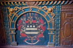 Hungerford Chapel coat of arms