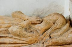 Down Ampney, All Saints Church, Lady Margaret Valers effigy