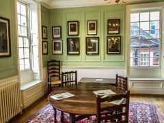 Dr Johnson's House, The first floor sitting room